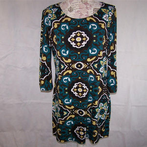 Inc shirt Tunic Top XL Stretch 3/4 Sleeves